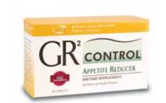 GR2 Control  Appetite Reducer  Unique fibre blend for enhanced satiety.* • Exclusive formula works with receptors in your digestive tract to create the feeling of fullness on fewer calories* • Six fibre sources including glucomannan (konjac flour) which expands up to 50 times its weight in water • Helps control glycaemic response by slowing carbohydrate release into the blood stream* • Take before meals to make you feel fuller on smaller portions*