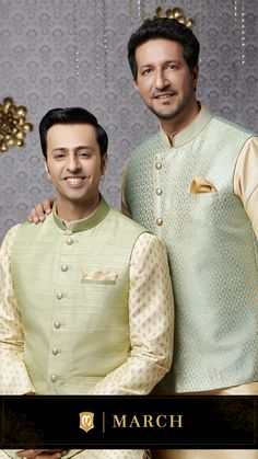 Manyavar brings you a wide range of designer Indian ethnic wear like kurta pajamas, Indo-western outfits, traditional sherwanis & wedding wear for men. Get the most elegant Indian traditional look this wedding season. Sherwani For Men Wedding, Wedding Dresses Men Indian, Wedding Dress Men, Wedding Men, Engagement Dress For Men, Gents Kurta Design, Kurta Men, Indian Groom Wear, Wedding Couple Photos