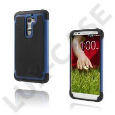 Impact (Blå) LG G2 Ultra-Sikkert Deksel