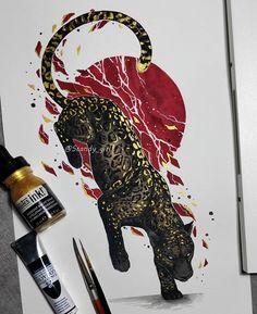 Animal Drawings, Art Drawings, Wow Art, Blackwork, Art Sketches, Art Inspo, Amazing Art, Art Reference, Fantasy Art