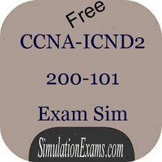 #CCNA #ICND2 free android application is available at : https://play.google.com/store/apps/details?id=com.anandsoft.icndexamsim