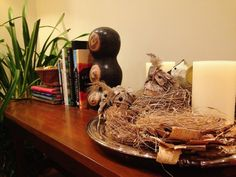 Another sweet vignette, full of all things textural and earthy.