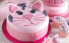 kitten cake face tutorial - Google Search