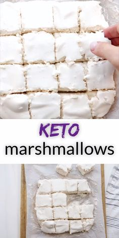 Sugar Free Marshmallows are the childhood flavor hero you need. So fluffy and delightful, you won& miss the sugar at all, you& just be askin& for S& 😉 The post Keto Marshmallows appeared first on Diet. Keto Foods, Ketogenic Recipes, Keto Snacks, Low Carb Desserts, Low Carb Recipes, Diet Recipes, Healthy Recipes, Dessert Recipes, Breakfast Recipes