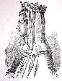 Margrete I (Marts 1353 – 28th October 1412) Queen of Denmark (1375-1412), Norway (1388-1412) and Sweden (1389-1412), acted as Queen regnant in DK, and founder of the Kalmar Union.
