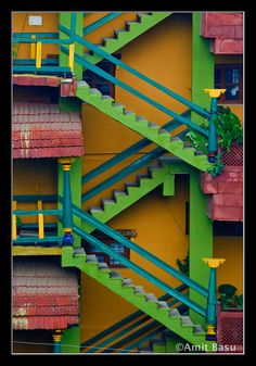 Colorful Stairs | by Amit Basu
