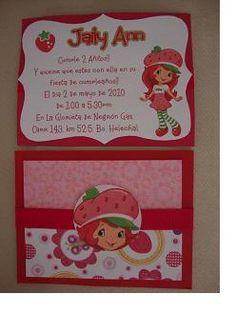 ba8dac2b4 Las 165 mejores imágenes de Cumpleaños de frutillitas | Baby dolls ...