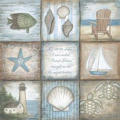 Free Digital Stamps: Freebies for Friday August Creation Photo, Beach Crafts, Diy Crafts, Decoupage Paper, Beach Scenes, Beach House Decor, Beach Art, Digital Stamps, Illustrations