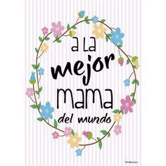 Tarjeta para el día de la madre, tamaño grande y más modelos en nuestra web http://www.detallicos.es/inicio/173-tarjetas-mama.html