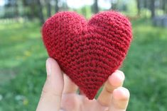 Virkans Amigurumi: Hjärta gratis mönster :-)