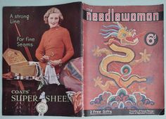 Vintage 1930s Knitting Needlework Magazine The by sewmuchfrippery