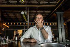 Street Portrait Of Ivan Franchet   #Paris75011 #ItalianRestaurant #Paris11