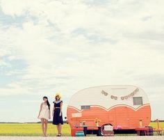 Vintage camper mobile shop!