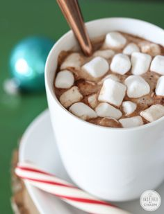 Hot Cocoa Bar and Homemade Recipe   Inspired by Charm