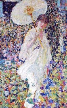 It's About Time: In the garden with American Frederick Carl Frieseke 1874-1939