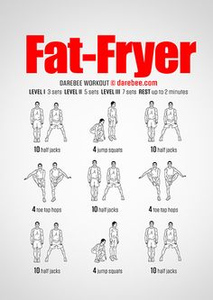 Fat-Fryer Workout | Posted by: CustomWeightLossProgram.com