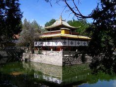Norbulingka lake (Tibet)