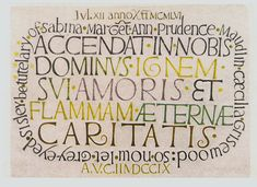 Colin Wilcockson - Mythological References in Two Painted Inscriptions of David Jones - Reprint from Journal of Modern Literature Types Of Lettering, Hand Lettering, David Jones Artist, Read Theory, Quill And Ink, Beautiful Handwriting, Pretty Fonts, Painted Letters, Writing Words