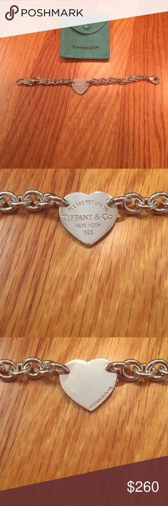 Tiffany & co. Bracelet Authentic. Perfect condition. No scratches. Professionally cleaned Tiffany & Co. Jewelry Bracelets