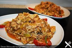 Puten - Reis - Pfanne (Rezept mit Bild) von bidiru | Chefkoch.de
