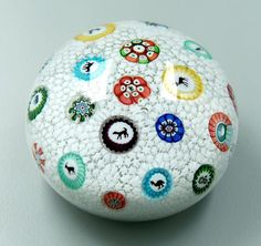 Circa.1848 Baccarat  Art-Glass Millefiori Paperweight♥♥