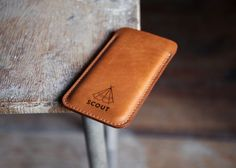 Scout Supply - iphone 6 leather sleeve