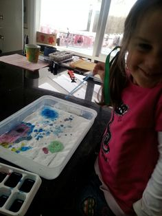 Creative fun with food dye Food Dye, Cool Kids, Action, Activities, Creative, Fun, Crafts, Home Decor, Group Action