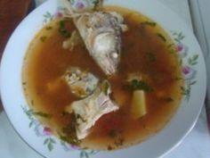 Bors de capuri de peste Supe, Dan, Ethnic Recipes, Food, Eten, Meals, Diet