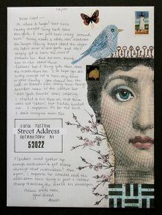 Sissy Envelope Art 44 | freezeframe03 via Flickr: details can be found here: freezeframe03.blogspot.com/2013/08/sissy-envelope-art.html