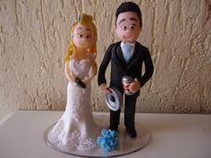 Topo de Bolo para Casamento!!