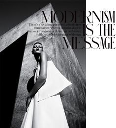 Work. Anja Rubik in The NY Times Style Magazine Spring 2013 by Mario Sorrenti