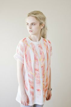 Unique Clothing, Handpainted by Artists in Bristol, UK - http://www.wearehairypeople.co.uk