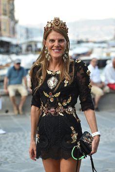 Decadent lace #AnnaDelloRusso. Portofino, Italy