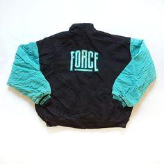 c3b48658cbd5d Details about Vintage 90s NIKE1 Air Command Force Basketball Fleece Jacket  XL Letterman Jordan
