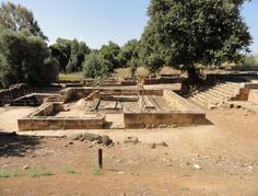 Israel - The Tel Dan High Place Alter built by King Jeroboam I