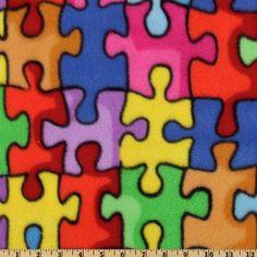 WinterFleece Jigsaw Puzzle Multi Fabric