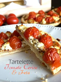 Tartelette tomate cerise feta