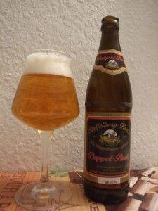 Doppelbock Bier der Staffelberg Bräu - Beer