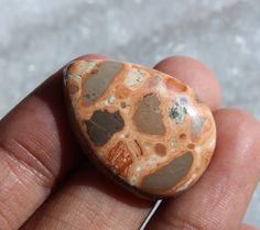 27x20 mm Natural Leopardite Jasper Gemstone by RareGemsNJewels