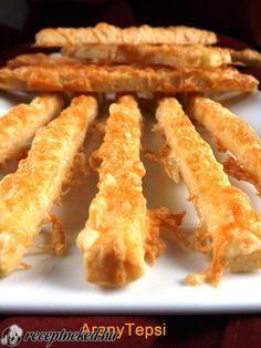 A legjobb Vendégváró sajtos ropogós recept fotóval egyenesen a Receptneked.hu gyűjteményéből. Küldte: aranytepsi