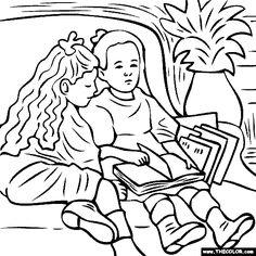 Pierre-Auguste Renoir - Little Girl Reading