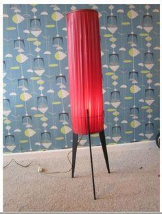 Rocket Lamp, burnin' on through the thingy thing