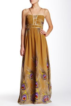 Chiffon Maxi Dress by London Dress Company on @nordstrom_rack