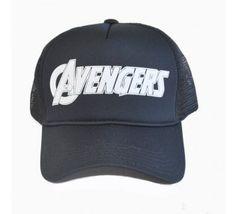 Boné - Trucker - Avengers (Preto)