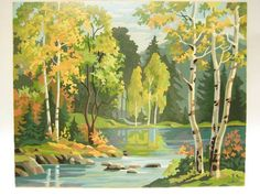 paint by number , autumn - Google Search