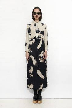 WRAY, Deluge Skirt, White Whisk | Mr. Larkin