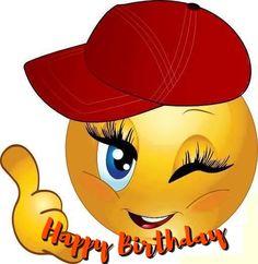 Free Emoji Birthday Ecards Birthday Emoticons, Happy Birthday Emoji, Funny Emoticons, Funny Minion Memes, Funny Emoji, Happy Birthday Messages, Happy Birthday Quotes, Happy Birthday Greetings, Birthday Wishes