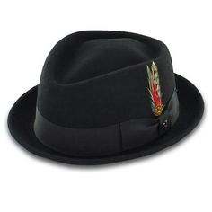 Belfry Jazz - Wool Diamond Porkpie Hat
