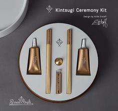 Alida Sielaff | Product Design | Rosenthal Kintsugi Ceremony Kit