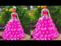 DIY Doll Decoration idea/How to Decorate a Doll Using Feathers/Make decorative Doll/Room decor ideas – feather clothes Barbie, Prom Dresses, Formal Dresses, Diy Doll, Beautiful Dolls, Ball Gowns, Ribbon, Room Decor, Holiday Decor